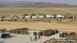 Российская военная база в Таджикистане.