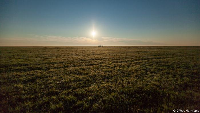 Степь в Казахстане