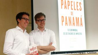 Журналисты Süddeutsche Zeitung представляют книгу о Панамских досье