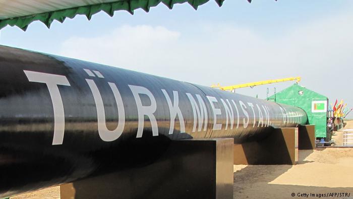 Turkmenistan Eröffnung der Ost-West Gas Pipeline in Shatlyk (Getty Images/AFP/STR/)