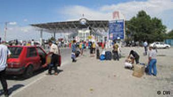Граница между Киргизией и Казахстаном